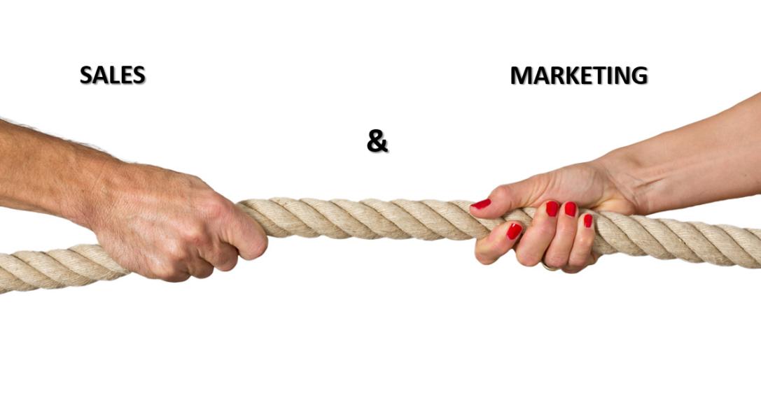 Единство и борьба маркетинга и продаж