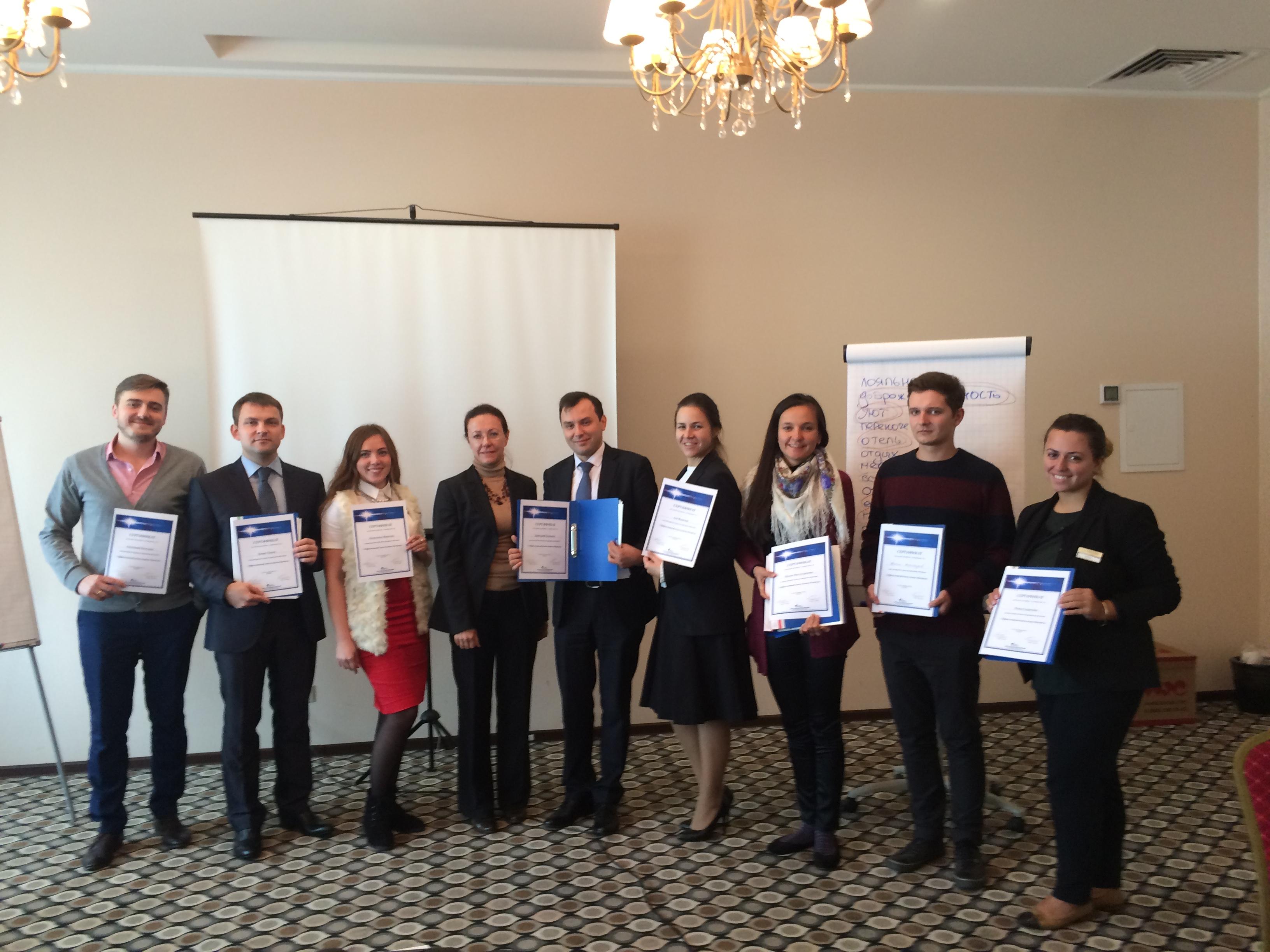 Корпоративная программа обучения для отеля Милан (Москва)