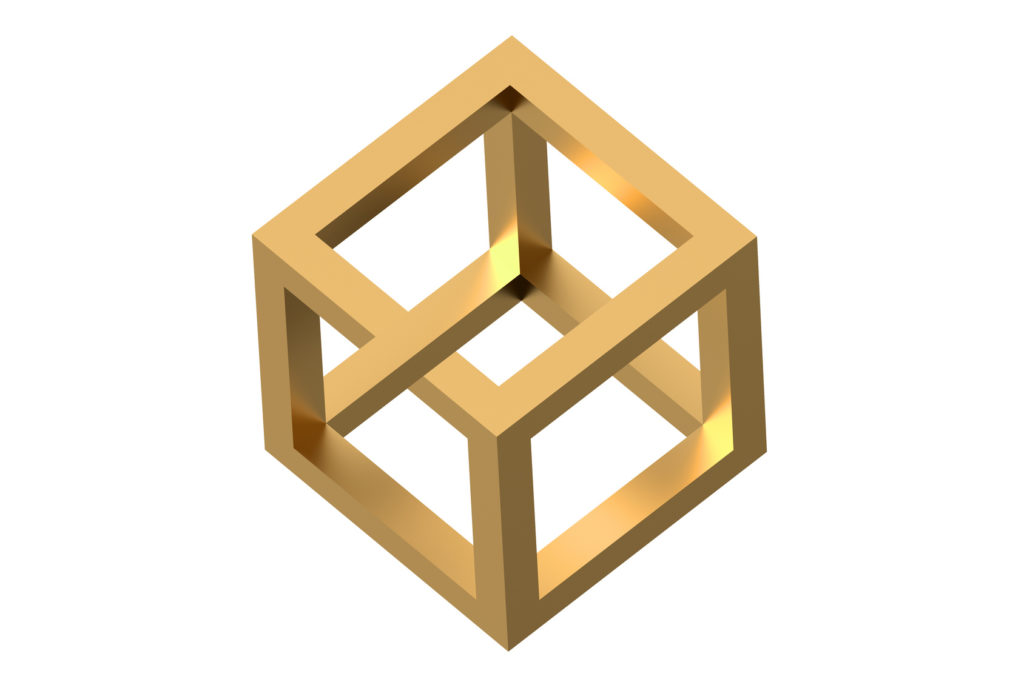 Picture of paradoxical cube